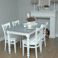 Prowansalski stół BIELONY * vintage * promocja !!! (4778784880) - Allegro.pl - Więcej niż aukcje.