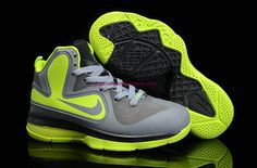 buy popular 33a84 b36d7 More and More Cheap Shoes Sale Online,Welcome To Buy New Shoes 2013 Lebron  9 Kids Dunkman Wolf Grey Volt  Nike Basketball Shoes - Lebron 9 Kids Dunkman  Wolf ...