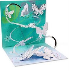 Butterfly pop-up card!