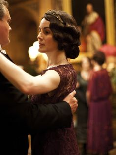 Robert Crawley, Earl of Grantham, and Lady Mary Crawley - Hugh Bonneville and Michelle Dockery in Downton Abbey Season 4.