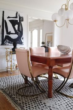 Dining Room Skinny Makeover