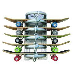 skateboard rack