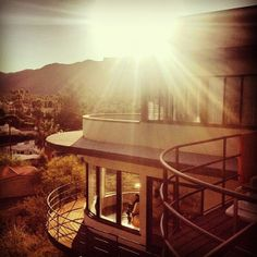 Sunrise in Palm Springs...