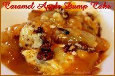 Caramel Apple Dump Cake http://www.momspantrykitchen.com/caramel-apple-dump-cake.html
