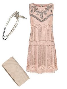 SHOP: Wedding guest outfits: Flapper syle