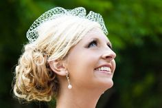 Love this birdcage!!  Ideas for Updos, Wedding Hair & Beauty Photos by JOPHOTO