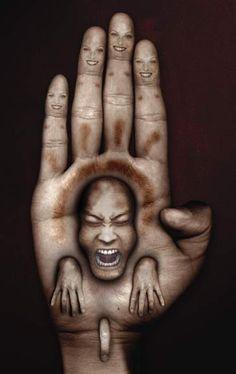 Las pesadillas convertidas en arte de, David Ho.