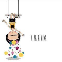 Bom dia! Viva a vida, arte de @nadjagds #fridakahlo #frida #friducha #inspiração #inspiracion #fridainspired #arte #cores #flores #bomdia #decoralavidafrida