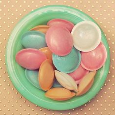 candy flying saucers