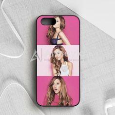 Ariana Grande Lyric Cover iPhone 5|5S|SE Case | armeyla.com