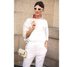 La blogeuse Hanneli Mustaparta - Street looks Fashion Week printemps-été 2014 New-York