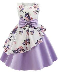 Gowns For Girls, Wedding Dresses For Girls, Girls Party Dress, Birthday Dresses, Little Girl Dresses, Girls Dresses, Flower Girl Dresses, Dresses For Kids, Little Girl Dress Patterns