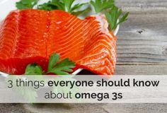 what everyone should know about omega 3 foods