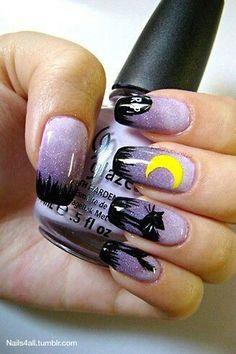 The Halloween Edit: Pinterest Best 50 Halloween Nails #halloween #halloweennails #nailsart