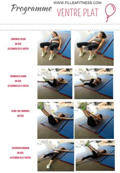 Yoga Fitness Flat Belly programme fitness abdominaux femme - There are many alternatives to get a flat stomach and among them are various yoga poses. Fitness Del Yoga, Health Fitness, Workout Fitness, Sport Motivation, Nike Free, Workout Programs For Women, Sport Outfit, Body Challenge, Athletic