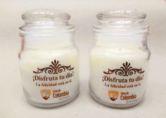 Regalos para madres, hermosas Velas Aromatizadas con marca personalizada.  Decorativas Velas Casiopea en Colombia, Bogotá. Tapas, Candle Jars, Stuffed Peppers, 72 Hours, Promotional Giveaways, Personalized Gifts, Beautiful Candles, Stuffed Pepper, Stuffed Sweet Peppers