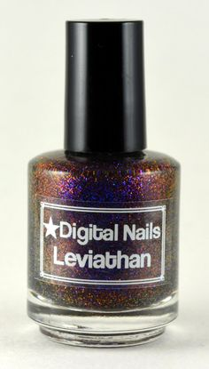 Leviathan: A Multicolored shifting glitter nail lacquer by Digital Nails on Etsy, $14.86 CAD