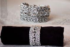 Outlier DIY | Metallic Crochet Bracelet