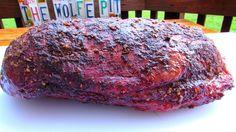 Eye of Round - Smoked Pit Beef - Smoked Beef Round Roast