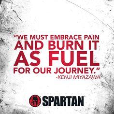 Pain is Fuel via Spartan Race Race Quotes, Motivational Quotes, Inspirational Quotes, Good Motivation, Fitness Motivation Quotes, Motivation Inspiration, Lifting Motivation, Workout Inspiration, Sport Motivation