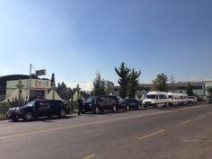 Correa Tours en el Convoy para la Visita Oficial de #IsraelenMexico.