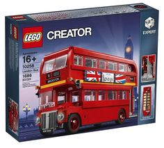 LEGO Creator Expert 10258 London Bus : Tout ce qu'il faut savoir: Je vous annonçais son arrivée imminente il y a quelques jours et… #LEGO