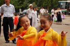 Cute North Korean kids.