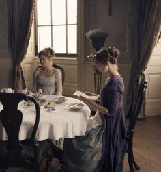 Ah the Miss Dashwoods at Norland…Sense and Sensibility, 2008 - Jane Austen