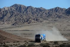Ilgizar Mardeev of team Kamaz competes in stage 12 from Fiambala to Copiapo during the 2013 Dakar Rally on January 17 2013 in Fiambala Argentina