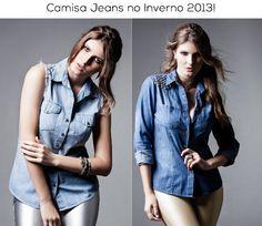 Camisa jeans tá com tudo nesse inverno! Vem saber mais sobre a tendência! http://www.macksonn.com.br/blog/index.php?id=103