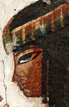 Museo Egipcio de Turín , Fragmentos de la tumba tt246 de Senenra (?). Dinastia XVIII, 1350-1292 A.C.