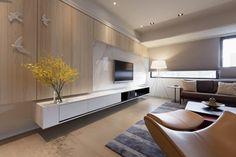 Design Hub - блог о дизайне интерьера и архитектуре: Квартира в Тайбэе, Тайвань