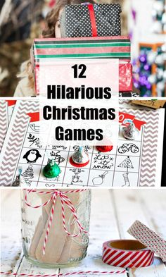 The funniest family Christmas party games you should play with your family this holiday season! The perfect way to spend time with the fam! christmasgames family christmas funny Spiel weihnachtsfeier 12 Hilarious Christmas Party Games to Try this Season! Family Christmas Party Games, Xmas Games, Holiday Games, Christmas Brunch, Noel Christmas, Christmas Humor, Holiday Fun, Christmas Ideas, Christmas Parties
