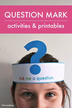 Fun question marks lesson plan with free printables - NurtureStore