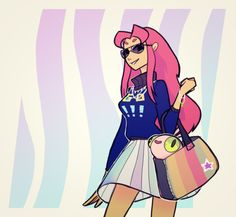 A fashion-y pic of Starfire Starfire Dc, Teen Titans Starfire, Starfire And Raven, Teen Titans Fanart, Teen Titans Go, Robin, Comic Book Characters, Marvel Characters, Raven Beast Boy