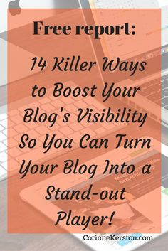Do you want to get your blog seen by the right people? Start getting the right traffic? Attract visitors that easily become your biggest fans? Start getting visible! Download the free report now!