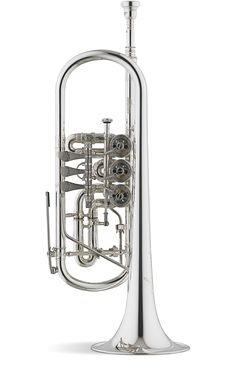 Titán C Rotary Trumpet - Model #5 Bore: 11,20 Bell: #29 130mm Leadpipe: #3 Stomvi or J. Meinlschmidt valve section Finish: silver plated 1000 thousandth Gold plated or raw brass finish upon request