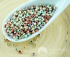 ✔ What's Hot Today: 20g Mix Metallic Silver Turquoise Copper Purple Czech Glass Round Seed Beads 11/0 PRECIOSA Pearls Rocaille Spacer https://czechbeadsexclusive.com/product/20g-mix-metallic-silver-turquoise-copper-purple-czech-glass-round-seed-beads-110-preciosa-pearls-rocaille-spacer/?utm_source=PN&utm_medium=czechbeads&utm_campaign=SNAP #CzechBeadsExclusive #czechbeads #glassbeads #bead #beaded #beading #beadedjewelry #handmade