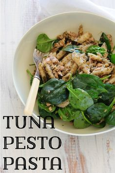This recipe was something I discovered when I was home alone a few weeks ago. I felt like something super comforting yet light at the same time. Not always an easy brief to fill. Ive made pesto based pastas and tuna based separately for years but the who
