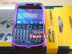 Otterbox Commuter Full Block Blackberry Onyx 3 / Bellagio 9790 Silicone Warna UNGU (PURPLE) - Hard Case Warna HITAM (BLACK) | HARGA : Rp 37.000,- | KODE BARANG : 1093 | +62-896-1718-8610 | Toko Online Rame - @rameweb