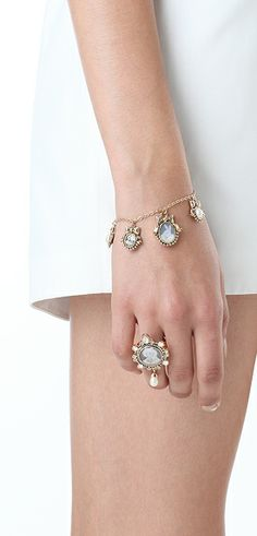 Disaya's LORD NORFOX PORTRAIT RING & LORD LAPIN AND HIS JEWELS BRACELET