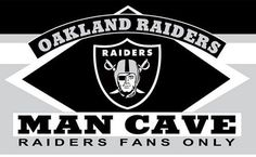 Raiders of Oakland CAVE MAN flag 90x150 cm polyester 3x5ft banner with 2 Metal Rings fans only