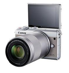 Canon EOS M100 Gris + EF-M 15-45mm + EF-M 55-200mm Kit d'appareil Photo Numérique 24,2 Mpix Zoom optique 10x Bluetooth Gris: Amazon.fr: Photo & Caméscopes