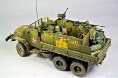 #M35 #guntruck #vietnam #usarmy #modern #scale #model #diorama