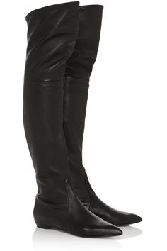 Casadei Leather over-the-knee boots