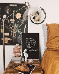 Make it yours Dorm Room Decor Ideas. Make it yours Dorm Room Decor Ideas Get more photo about subj My New Room, My Room, Dorm Room, Bohemian Interior Design, Small Apartment Decorating, Cozy Apartment Decor, Vintage Apartment Decor, Retro Apartment, Room Goals