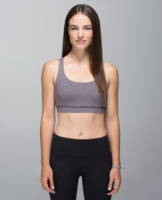 We designed this light-support bra for the well endowed among us. A wide band under the bust gives our ladies a ledge to lean on and the medium coverage in front ensures we're not exposing our assets.