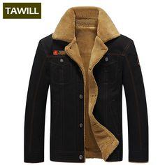49de17dcdae Tawill Для мужчин куртка Жан в стиле милитари Солдат Хлопок Air Force One  мужской бренд одежды