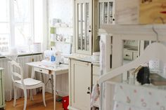 Large sewing room
