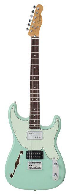 Fender Electric Guitar Pawn Shop 72 Seafoam Green | Rainbow Guitars